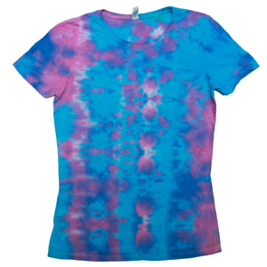 Tie Dye One Of A kind Ladies Size MEDIUM T-Shirt