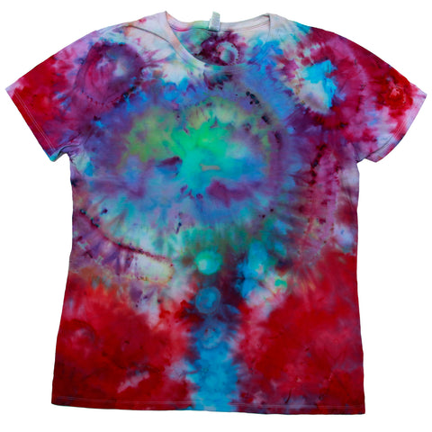 Tie Dye One Of A kind Ladies Size X-Large T-Shirt