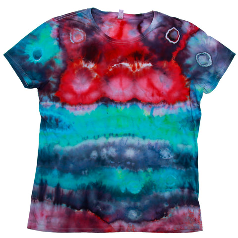 Tie Dye One Of A kind Ladies Size 2X-LARGE T-Shirt