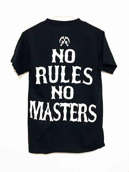 Sons Of Anarchy No Rules  Double Side Print T-shirt