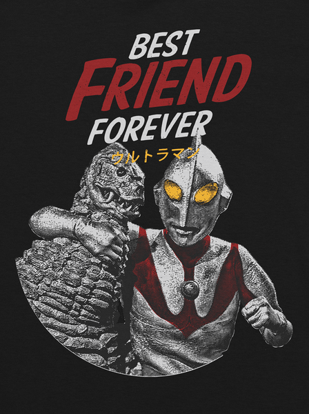 Godzilla Ultraman BFF Tokusatsu T-Shirt Adult Unisex Sizes S to 4XL