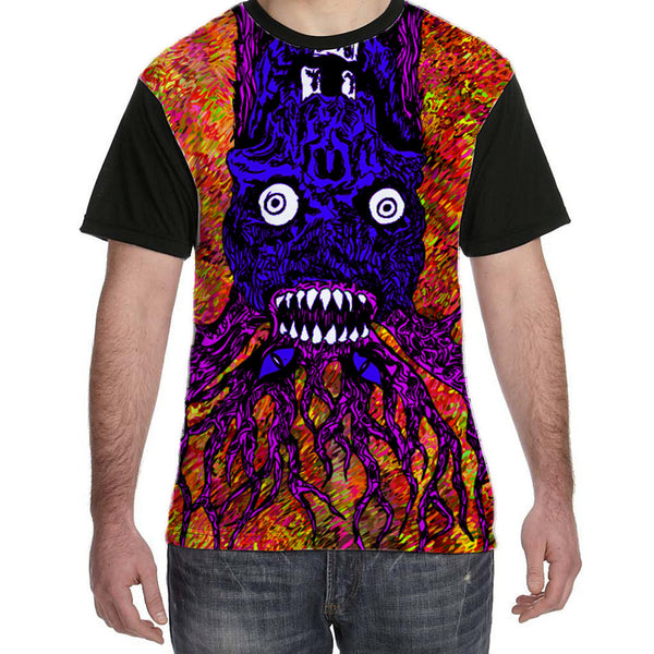Surreal Demonic Dream Tree Men's T-Shirt