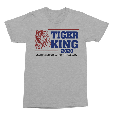 Joe Exotic the Tiger King 2020 Presidential funny T Shirt