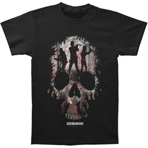 The Walking Dead Survivors Skull and Shadows T Shirt Adult  Unisex Sizes S to 3XL