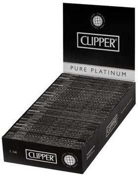 Clipper pure platinum Spanish size rolling papers