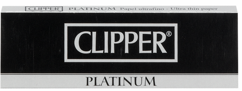 Clipper premium platinum rolling papers - smoking products