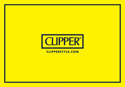 Clipper brand logo - lighters, rolling papers & filters