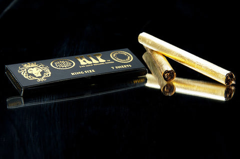 Hip Gold organic rolling papers-vanilla flavour