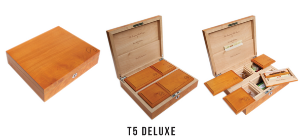 Wolf T5 Deluxe Smoking rolling boxes