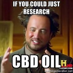 Research Hemp CBD oil extracts