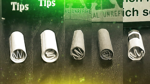 Different Smoking Crutch Tips