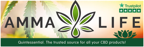 Amma Life CBD Collection Banner
