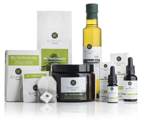 Biobloom cannabin cbd product range UK