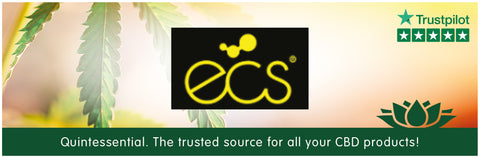 ECS Gold Drops And Capsules Banner