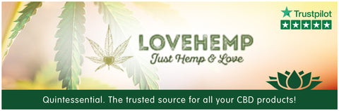Love-hemp-cbd-oils-uk-banner-for-quintessential-cbd-supermarket shop superstore