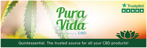 Pura Vida CBD Oil UK Collection Banner