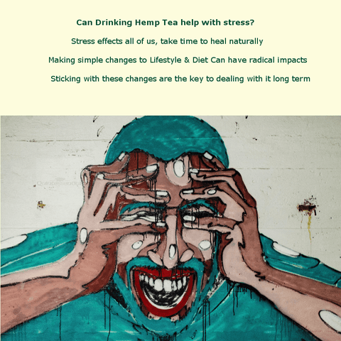 Can drinking hemp cbd tea help stress anxiety and fear