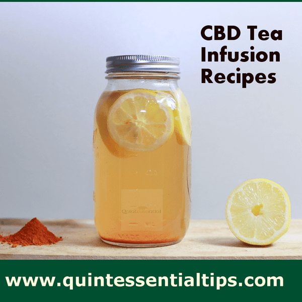 CBD Tea Infusion Recipes