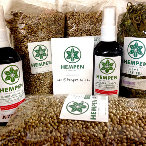 Hempen CBD Hemp products UK - Farmers markets England