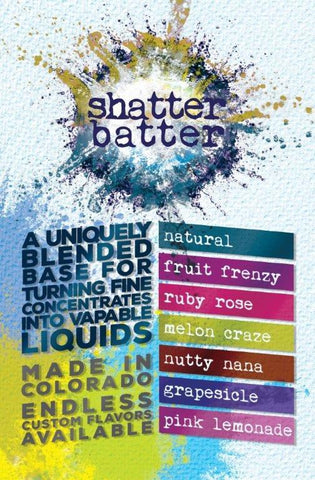 Shatter Batter UK | Wax, Crystal, Crumble Liquidizer