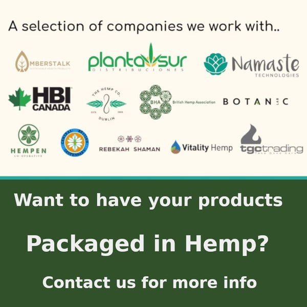 Hemp product packaging- we can help you succeed
