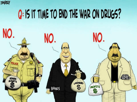 War on drugs has failed