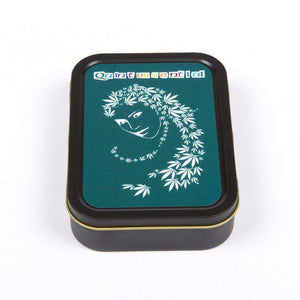 2oz Printed Smoking Tobacco Tins - Lady Hemp