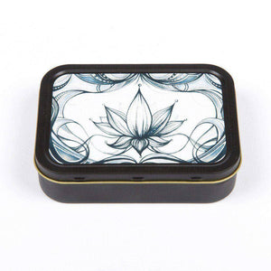 Quintessential 2oz Printed Tins - Horizontal Lotus