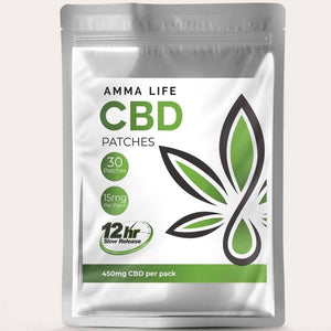 CBD Patches UK | Slow release 15mg Trans dermal Cannabis Patches | 30 Per Pack