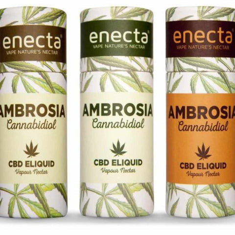Ambrosia CBD e-liquid with cannabinoids UK