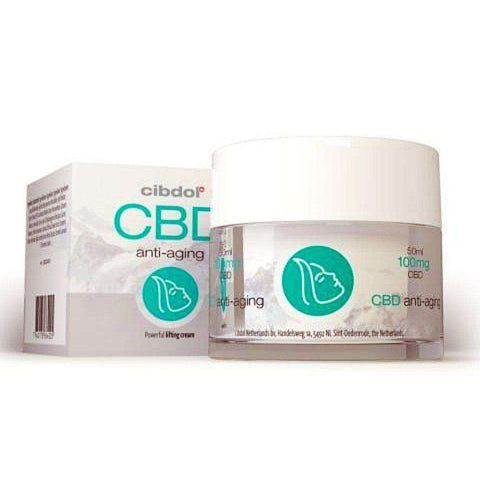 Anti Ageing Cream with CBD by Cibdol | Premier CBD Moisturiser for topical skin use