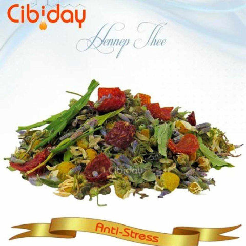Anti Stress CBD Tea | Cibiday Relax Hemp Loose Tea