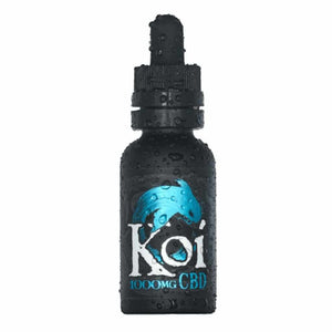Blue Koi CBD E-liquid UK - Blue Raspberry E-juice
