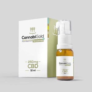 CannabiGold Terpenes+ CBD Oil | 250mg | 500mg | 1000mg | 1500mg | 12ml Bottle-CannabiGold-Quintessential Tips