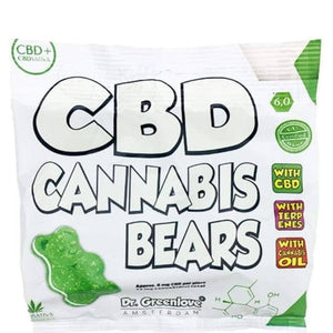 CBD Bears |  Cannabis Gummy Edibles Infused with Terpenes | Dr Greenlove