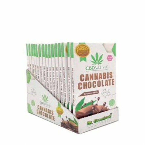 CBD CHOCOLATE UK | CANNABIS MILK CHOCOLATE WITH CBD – 15MG