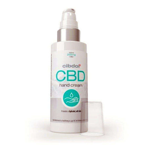 CBD Hand Cream by Cibdol with Allantoin and Helianthus Annuus