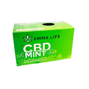 CBD Mint Tea Amma life UK