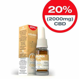 cibdol Authentic 20% CBD Oil UK - London - Cornwall 10ml