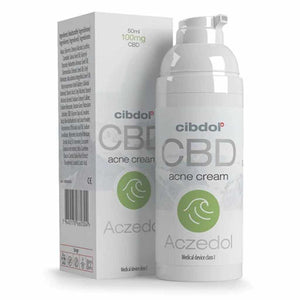 Cibdol Aczedol CBD Salve - Naturally CBD Powered Acne Skin Care Cream-Cibdol CBD Range-Quintessential Tips