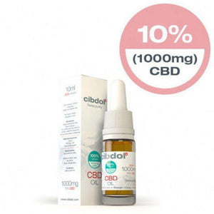 Cibdol strong cbd oil UK 4% 10ml bottle - swiss extraction