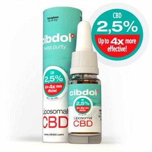 Cibdol Liposomal CBD Oil For Sale- 10ml bottle UK Cannabis Oil