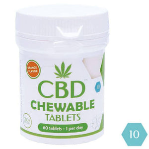 CBD Chewable Tablets | Dr Greenlove's UK | 600mg Per Pack