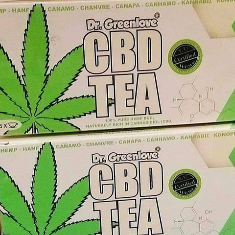 CBD Tea For Sale, the UK's best CBD Tea by Dr Greenlove