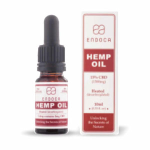 Endoca Premium 15% Hemp CBD Oil Drops - 1500mg