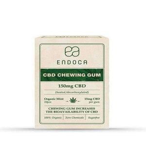 Endoca CBD Chewing Gum Organic Mint