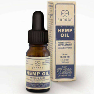 Endoca Premium 3% Hemp CBD Oil Drops - 300mg