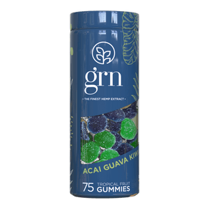 GRN CBD Gummies | CBD Edibles with 750mg Cannabidiol | 75 Sweets Per Pack