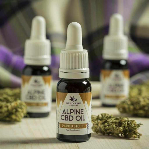 Holistic Hemp Alpine CBD Oil Drops 500mg Cannabidiol - 10ml is a new product