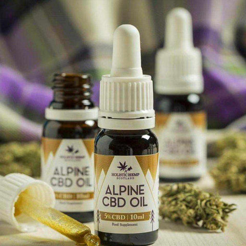 Welcome Holistic Hemp Alpine CBD Oil Drops 500mg Cannabidiol - 10ml botlle